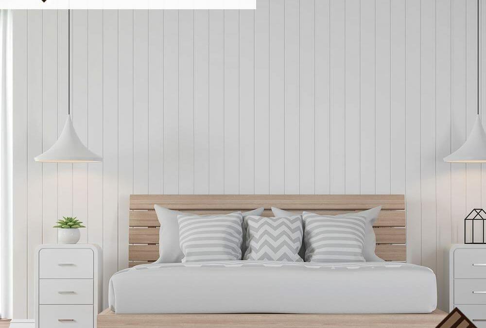 Natural Hardwood Bedroom Flooring