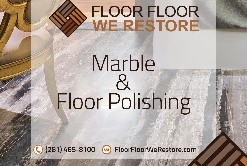 Marble and floor polishing