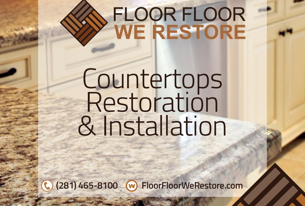 Countertops Restoration and Installation